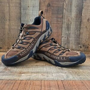 MERRELL Mens Refuge Pro Ventilator Dark Earth Kangaroo Shoes Sz. 13 J50979