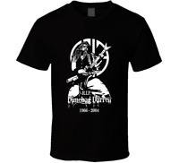 Dimebag Darrell RIP Pantera DamagePlan 2 black white tshirt men's free shipping