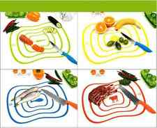 Mini Flexible Ultra-thin Fruit Vegetable Cutting Chopping Board Mat Kitchen Tool