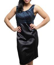 Knee Length Formal Floral Sheath Dresses for Women