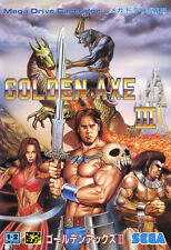 Framed Print – SEGA Mega Drive Golden Axe 3 Japanese Version (Gaming Picture)