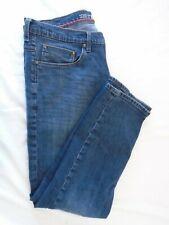 Wrangler Men's Vintage Slim Zipper Closure Denim Blue Jeans Size 34X30