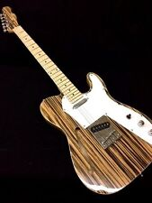 Thinline 1969 Tele Style Electric Guitar Semi Hollow body with Zebra Finish