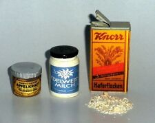 """1:6 scale WW II German Field Kitchen supplies set """"A"""""""