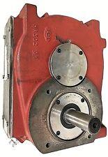 Gearbox 80 hp Multiplier Ratio 1 to 6,2 increasing.