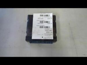 Chassis ECM Body Control BCM Left Hand Dash Fits 01 SIERRA 1500 PICKUP 157582