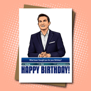 Happy Birthday - Card Inspired by Bradley Walsh on 'The Chase'