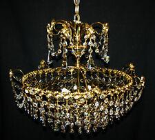 Crystal Multi-Tiered Basket Style Chandelier- Nice