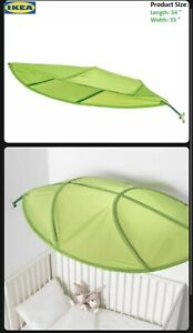 Ikea Green Leaf Lova Kid Bed Canopy -Perfect for Diffusing Harsh Office and Home