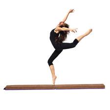 New listing Best Gift - 8 Feet Gymnastics Foam Balance Beam Gymnasts Equipment Cheerleade