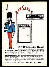 3w1024/ Alte Reklame - von 1960 - Gasherde von JUNKER & RUH - Karlsruhe