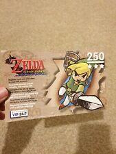 The Legend of Zelda: Wind Waker - Unscratched VIP Points - Nintendo Gamecube