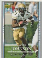Calvin Johnson 2007 Upper Deck First Edition Rookie Card #103 Detroit Lions NICE