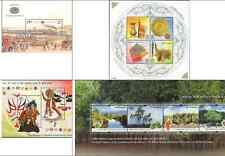 2002 Miniature Sheets Year Pack - set of 4 different MS