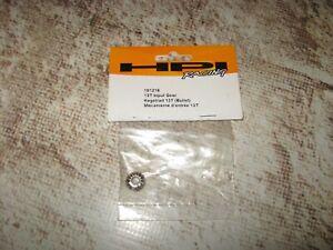 RC HPI 13 Tooth Input Gear Metal (1) 101216