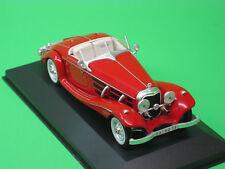 MB Mercedes Benz 540K 1936 rot Ixo 1:43 Oldtimer Modellauto Modellfahrzeug