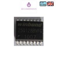 WINDBOND W25Q128BVFG  - SOP16  16PIN -  128M-BIT Spi-FLASH BIOS Chip ,Atlas 200