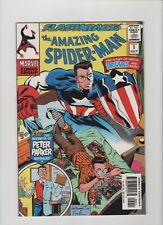 Amazing Spider-Man Minus 1 - Peter Reading Comic Books! - 1997 (Grade 9.2) WH