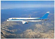 EL AL ISRAEL AIRLINES Boeing 757-200(4X-EBL) Airline Airplane Postcard