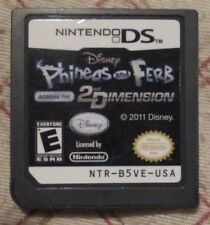 Nintendo DS - Disney Phineas and Ferb : Across the 2nd dimension (Cart only)