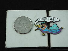WILLABEE & WARD DISNEY PIN JASMINE 1992 COMES WITH COLLECTOR'S CARD