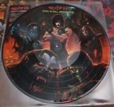 DEATH SS Rock 'N' Roll Armageddon - picture disc album - 200 copie