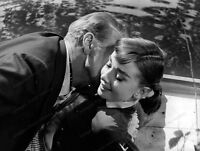 8x10 Print Audrey Hepburn Gary Cooper Love me in the Afternoon 1957 #GCAH4