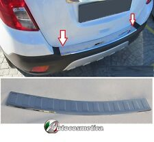 Protezione soglia carico Opel Mokka acciaio inox paraurti battivaligia