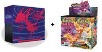 Sword & Shield Darkness Ablaze Booster Box+Elite Trainer Box NEW Pokemon 8/14!