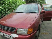 VW Polo 6N 1.4 petrol manual spares or repair
