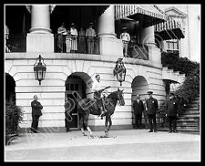 Tom Mix 8x10 Photo -  Horse White House Visit 1925 - Buy Any 2 Get 1 Free