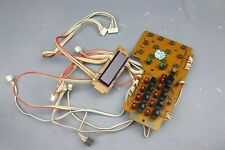 > FOSTEX MODEL 80 < Function Control PCB Board + Display Reel to Reel Part #Fx12