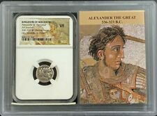 336-323 Bc Alexander Iii Great Ngc Vf Drachm Macedon Lifetime Story Vault