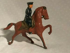 Barclay Manoil Mounted Officer Figure