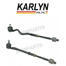 NEW BMW E46 323i 323Ci Pair Set of Left and Right Tie Rod Assemblies Karlyn