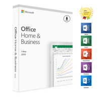 *PROMO* OFFICE 2019 HOME BUSINESS PER MAC VERSION VL - SPEDIZIONE RAPIDA