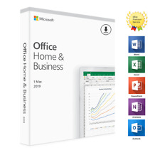 *PROMO* OFFICE 2019 HOME BUSINESS PER MAC VERSION - LIFETIME VL ESD DIGITAL