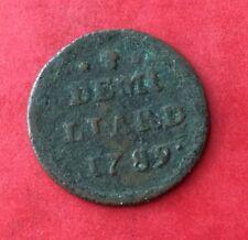 Luxembourg - Pays-bas Autrichiens - 1/2 Liard 1789