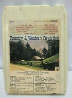 Country & Western Favorites (8 Track Tape) Music