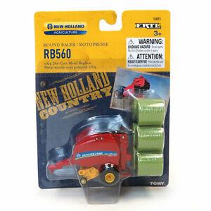 1/64th New Holland Roll Belt RB560 Round Hay Baler by ERTL ERT13873 13873