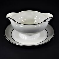 Tirschenreuth Dawn Gravy Boat with Attached Underplate