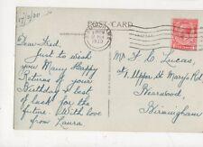 Mr Fred Lucas Upper St Marys Road Bearwood Birmingham 1930 544a