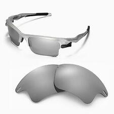New Walleva Titanium Replacement Lenses For Oakley Fast Jacket XL