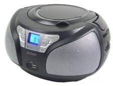 Radio CD Denver Electronics Tcu-206bl negro 09ab S0401444