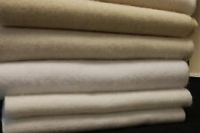 "CURTAIN LINING Premium Quality Domett/ Bump Interlining 54"" /137cm By The Metre"