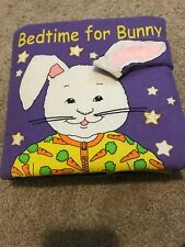 Soft Play Interactive Cloth Book Bedtime For Bunny