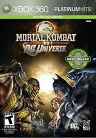 Mortal Kombat vs. DC Universe (Xbox 360, 2008)
