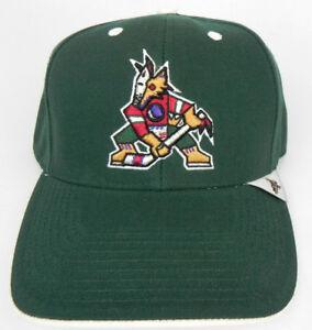 PHOENIX ARIZONA COYOTES NHL VINTAGE 1990s SNAPBACK THROWBACK CAP HAT NWT! RARE