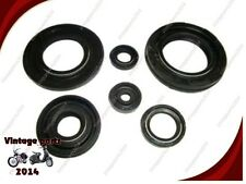 5X GENUINE YAMAHA RD 350 400 CC MOTORCYCLE ENGINE OIL SEAL KIT SEALS