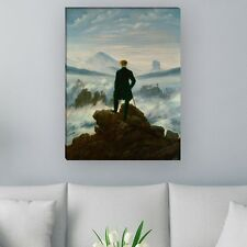 "WANDKINGS Leinwandbild Caspar David Friedrich-""Der Wanderer über dem Nebelmeer"""
